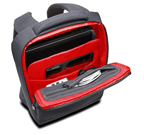 Kensington 8589662623 Laptop Messenger Bag Metro 14-Feet Grey Red   Amazon.ca  Computers   Tablets 6ab0d1102ebcb