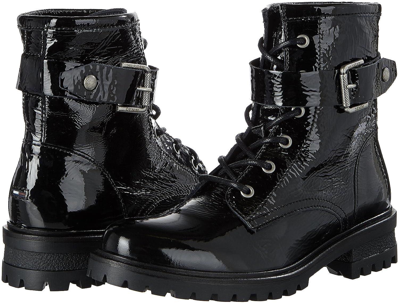 Hilfiger Para Negro Denim Mujer C1385orey Militar 5a Botas black Rq6pRZwr fec723e8a7b34