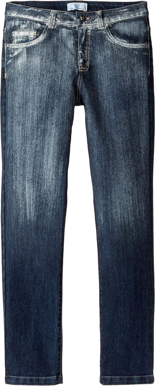 Versace Kids Mens Faded Denim Pants Big Kids