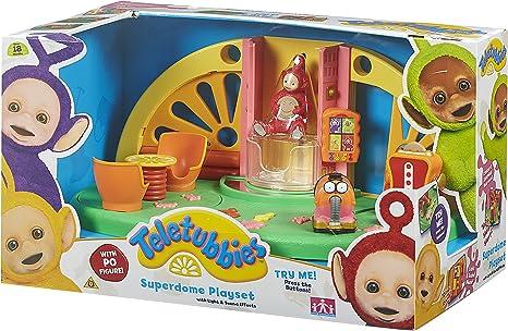 Teletubbies Nachziehspielzeug mit Pudding-Maschine Mehrfarbig Spielzug