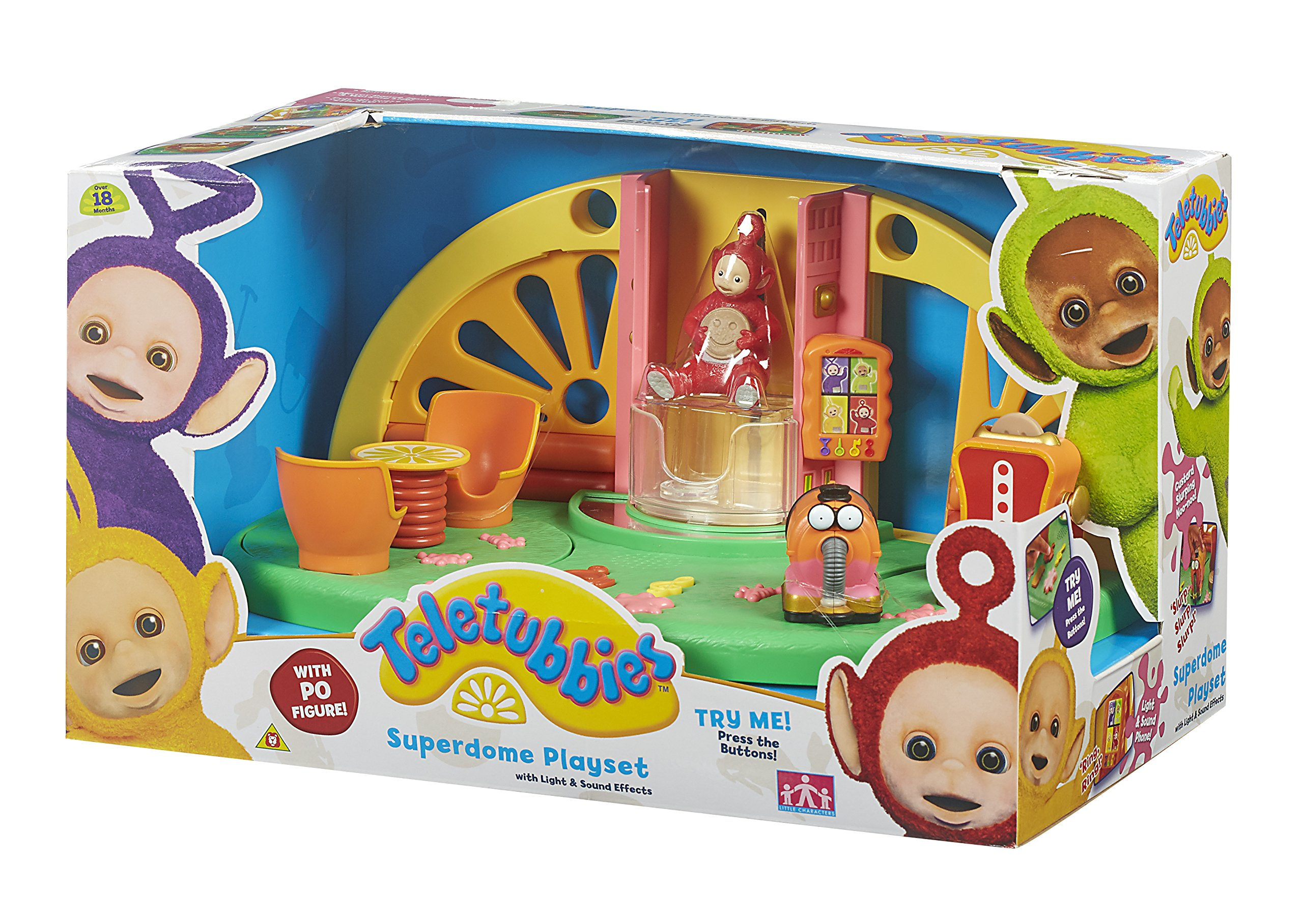 teletubbies superdome playset multicolour home hill dome