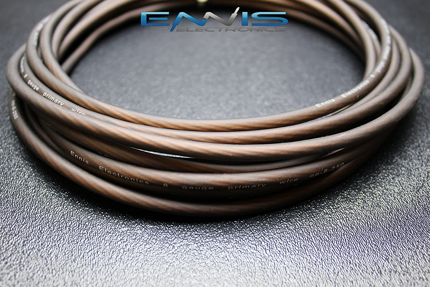 8 GAUGE WIRE 100 FT TOTAL 50 FT BLACK 50 FT RED SUPER FLEX AWG CABLE BY ENNIS ELECTRONICS POWER GROUND STRANDED CAR SOLAR AUTOMOTIVE