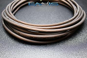 8 Gauge Draht 100 FT schwarz AWG matt Kabel von Ennis Electronics ...