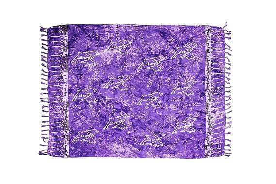 e43c4962a8daf MANUMAR sarong donna non trasparente | pareo telo da mare | foulard ...