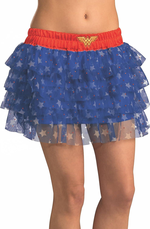 Rubies 35078, Falda Disfraz de Mujer Maravilla con Lentejuelas ...