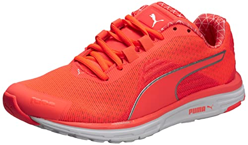 Puma Faas 500 V4 Power Warm, Women's Training Running Shoes, Orange (Fiery  Coral