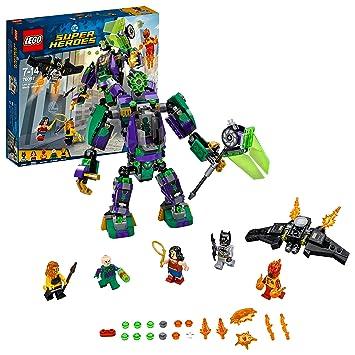 LEGO UK 76097 DC Super Heroes Lex Luthor Mech Takedown Superhero Toy ...