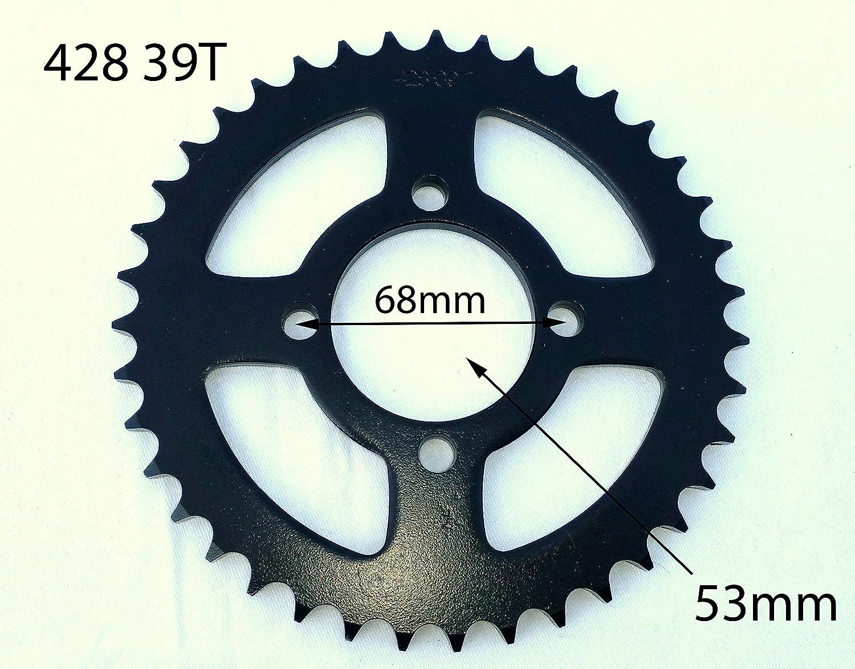 Orange Imports Ltd SPR29 428 39 Tooth 39T Rear Sprocket 125cc 150cc Pit Dirt Bike