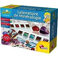 Lisciani fr59454–Juego Educativo–Laboratorio de mineralogía
