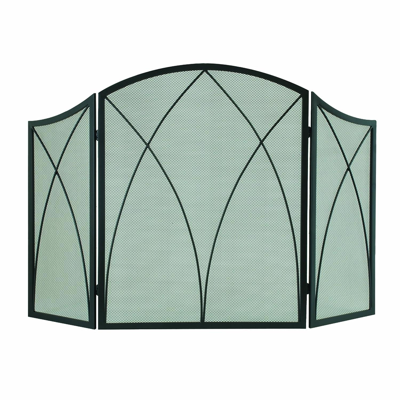 Amazon.com: Pleasant Hearth Arched 3-Panel Victorian Gothic ...