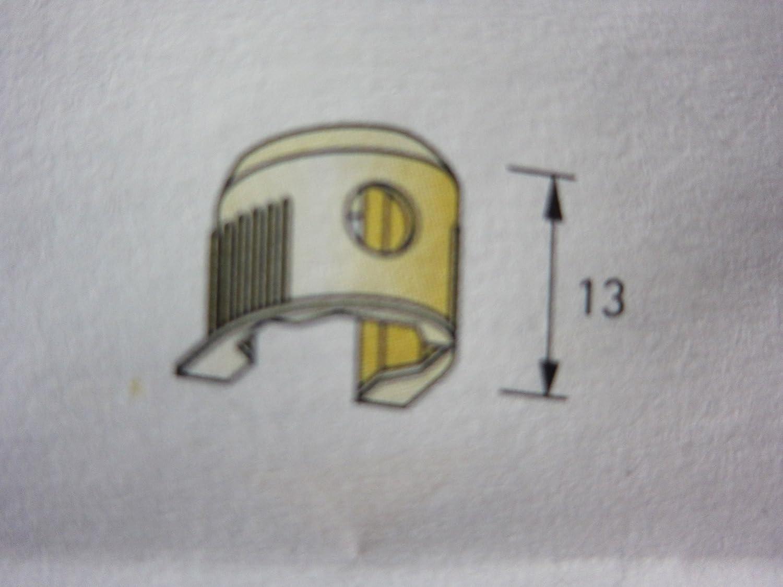 434 Hettich Einla/ßbodentr/äger Einlassbodentr/äger /ø 15 mm 4 St/ück Druckgu/ß vernickelt