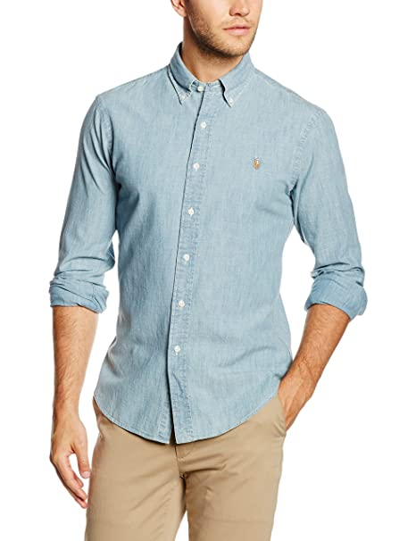 top fashion e5cd8 19d15 Polo Ralph Lauren Camicia Uomo