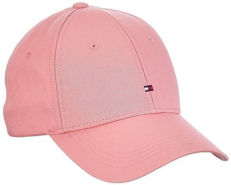 Tommy Hilfiger Classic Cap, Gorra de béisbol para Mujer, Rosa (Desert Rose HTR
