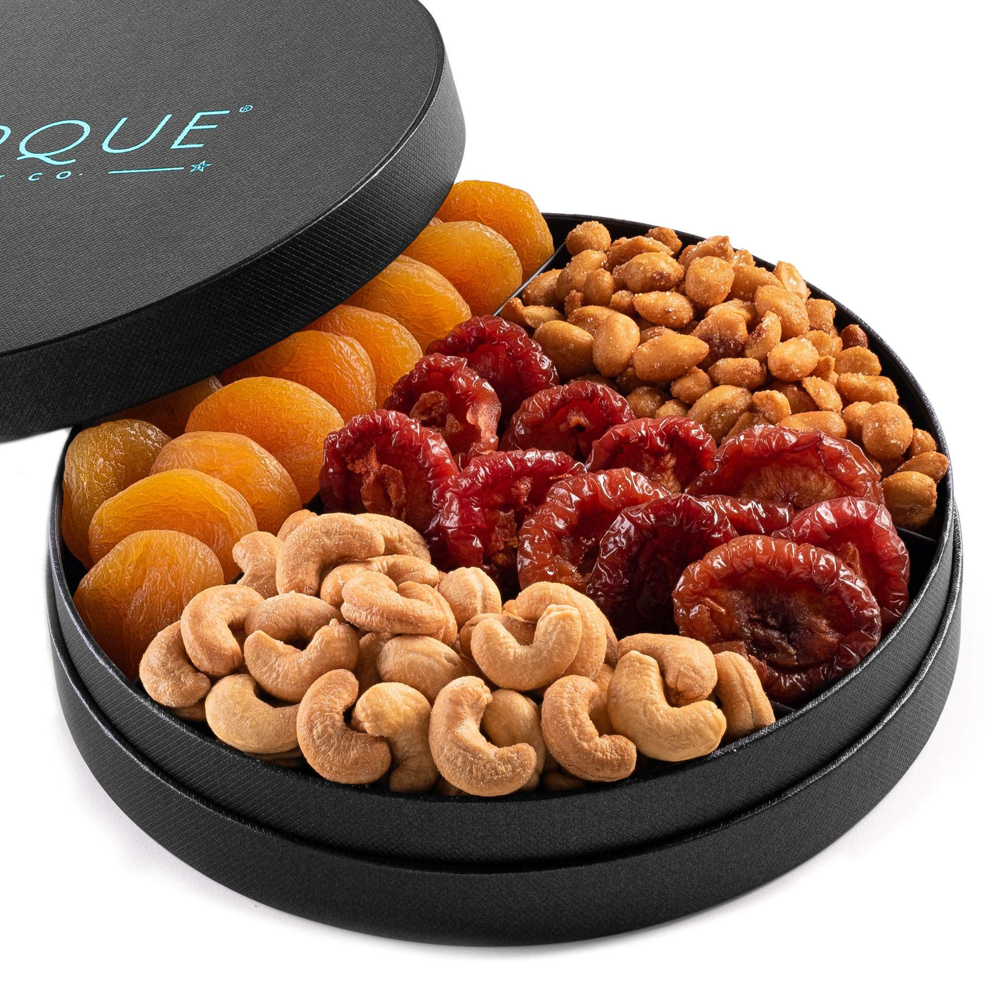 Gourmet Nut and Dried Fruit Gift Tray - 8''