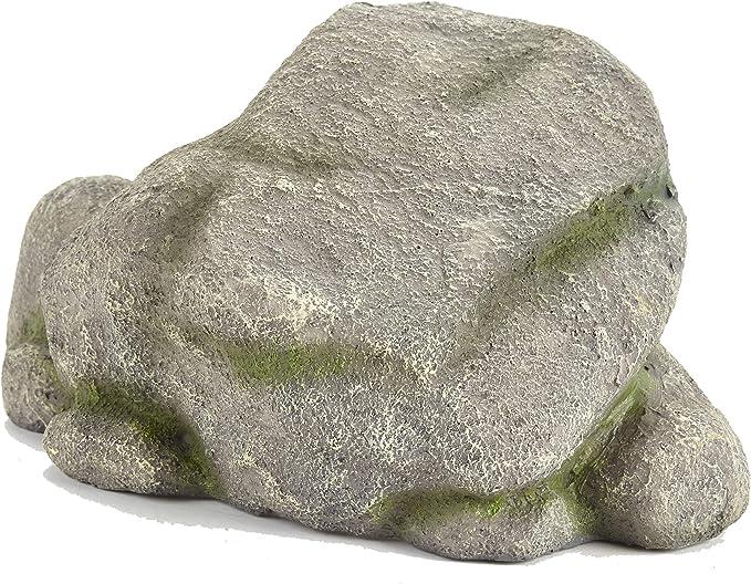 ara/ñas esconder Pet Ting Cueva de Rockery para Reptiles viario terrario Lagarto Cuevas