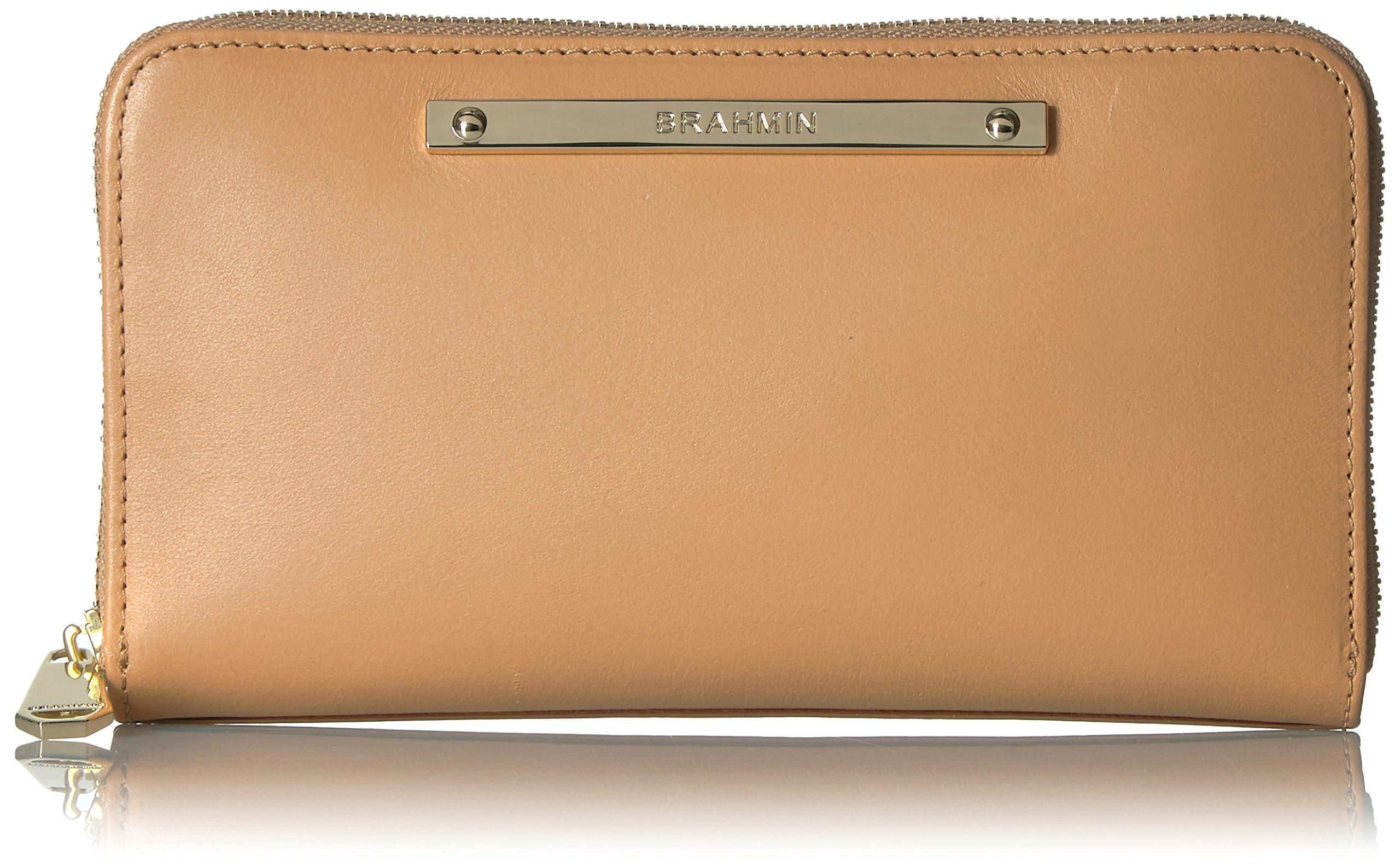 Suri Wallet, Creme, One Size by Brahmin