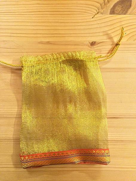 100 Pcs Organza Pouch Wedding Favor Gift Bags Amazon Kitchen