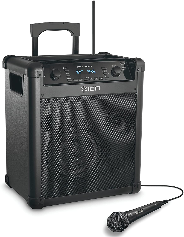 Ion Audio BLOCK ROCKER WL RECHARGEABLE SPEAKER SYSTEM IPA8A