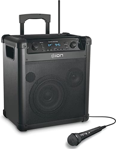 Ion Audio BLOCK ROCKER WL RECHARGEABLE SPEAKER SYSTEM IPA76A