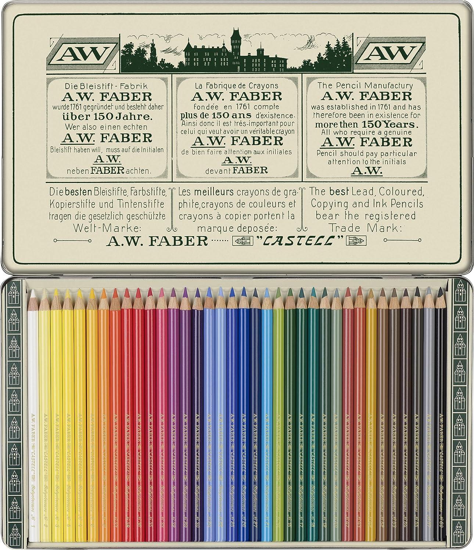フェイバーカステル限定版111周年記念 - 36の彩色アーティストの鉛筆   B07MHC5S22