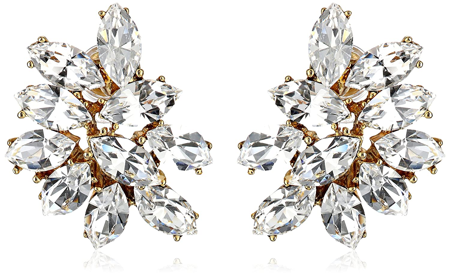 Ben-Amun Jewelry Swarovski Crystal Earrings for Bridal Wedding Anniversary
