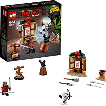LEGO Ninjago - Área de entrenamiento (70606): Amazon.es: Juguetes y juegos
