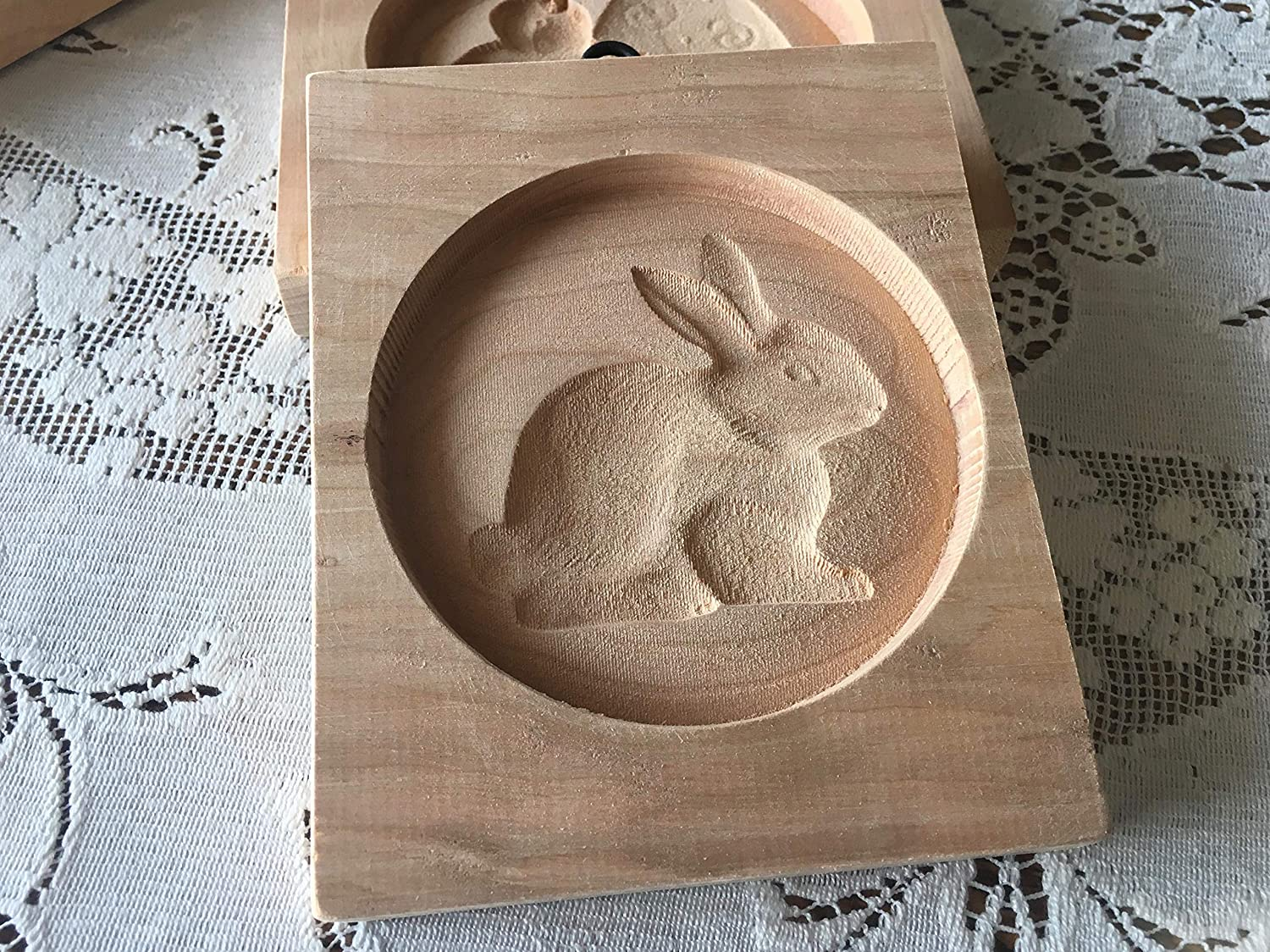 Easter Bunny Cookie Board