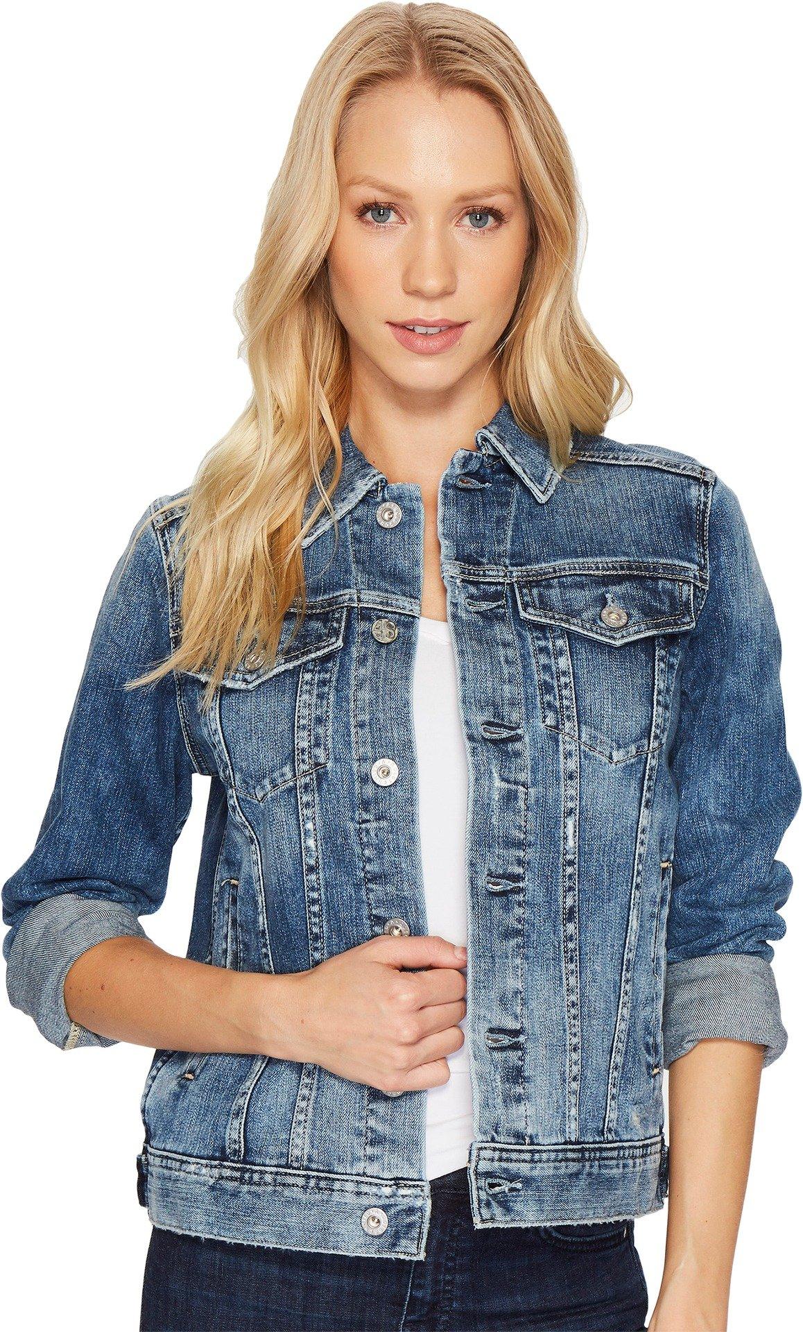 AG Adriano Goldschmied Women's Mya Jacket, Years Magnetic Blue, S
