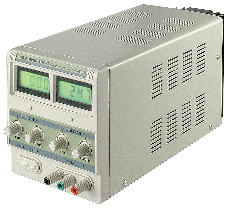 Fuente de alimentación laboratorio de electrónica