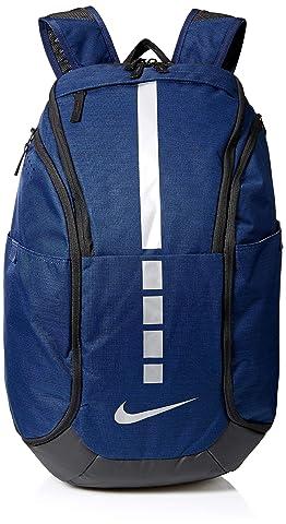 NIKE Hoops Elite Hoops Elite Basketball Backpack MIDNIGHT NAVY/BLACK/MTLC COOL GREY