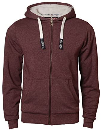 e9ab758f9ff Men s Hoodie Tokyo Laundry IE 3020 Full Zip Hooded Fur Lining Sweatshirt  Jacket