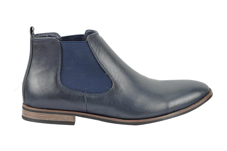 10434e6a9f1c2e Xposed Herren Wildleder Chelsea Boots Italienisch Stil Smart Casual Retro  Desert Dealer Mid Knöchelschuhe