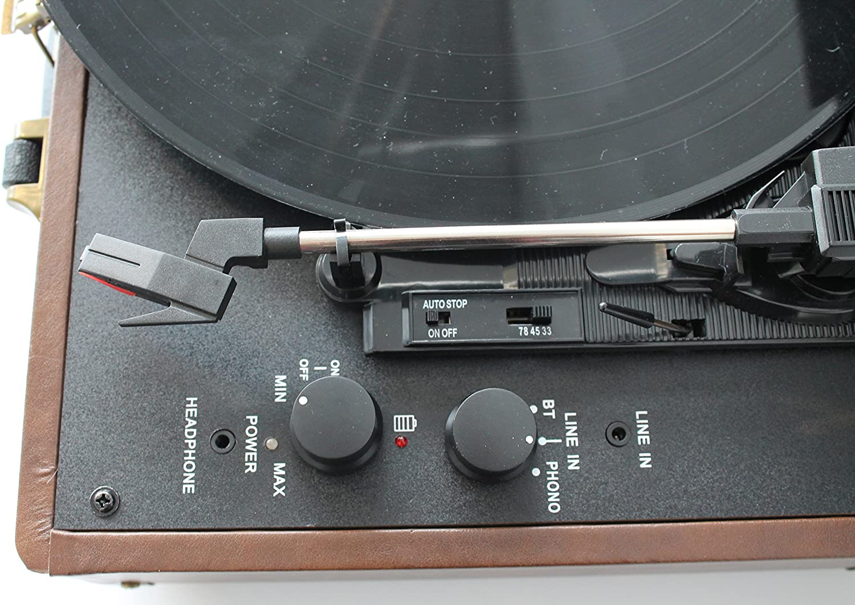 Tocadiscos Groove Sound Tweed GS1000 Negro: Amazon.es: Electrónica