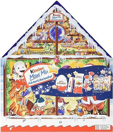 Kinder Weihnachtskalender.Kinder Maxi Mix Adventskalender 1er Pack 1 X 351 G
