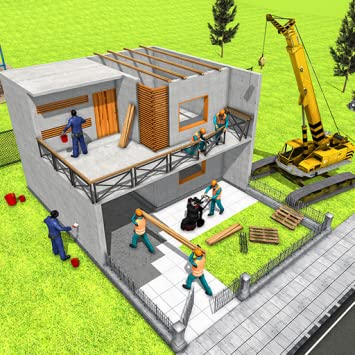 Amazon Com Modern Home Design House Construction Games 3d