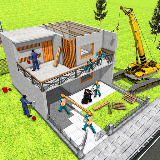 Modern Home Design & House Construction Games 3D (Best Home Building App)