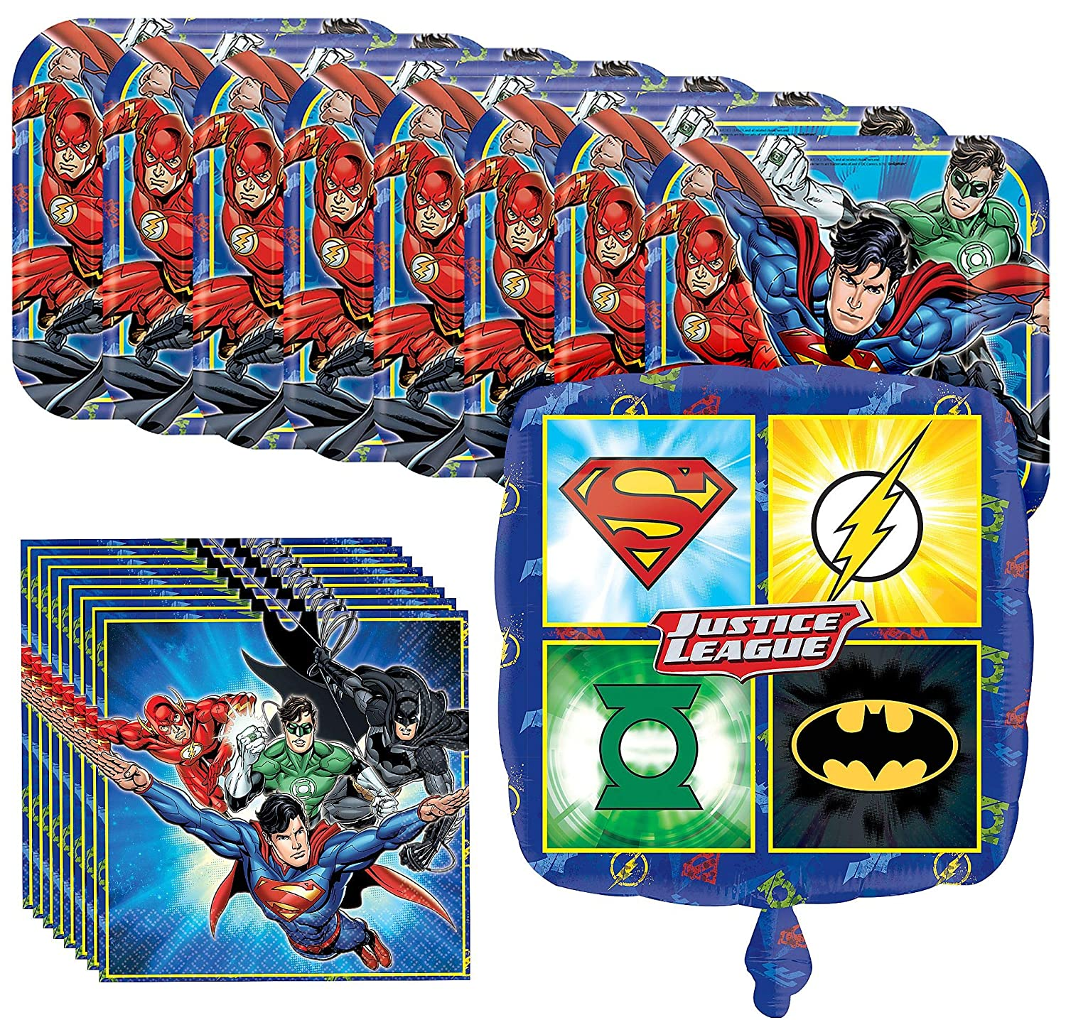 Amazon.com: Party City Justice League Basic - Juego de ...