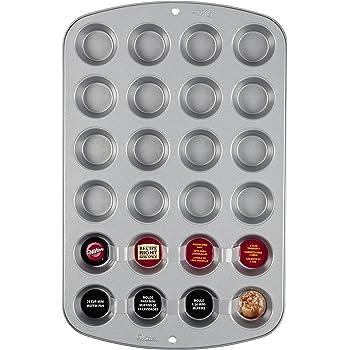 Amazon.com: Wilton Recipe Right 24 Cup Mini Muffin Pan