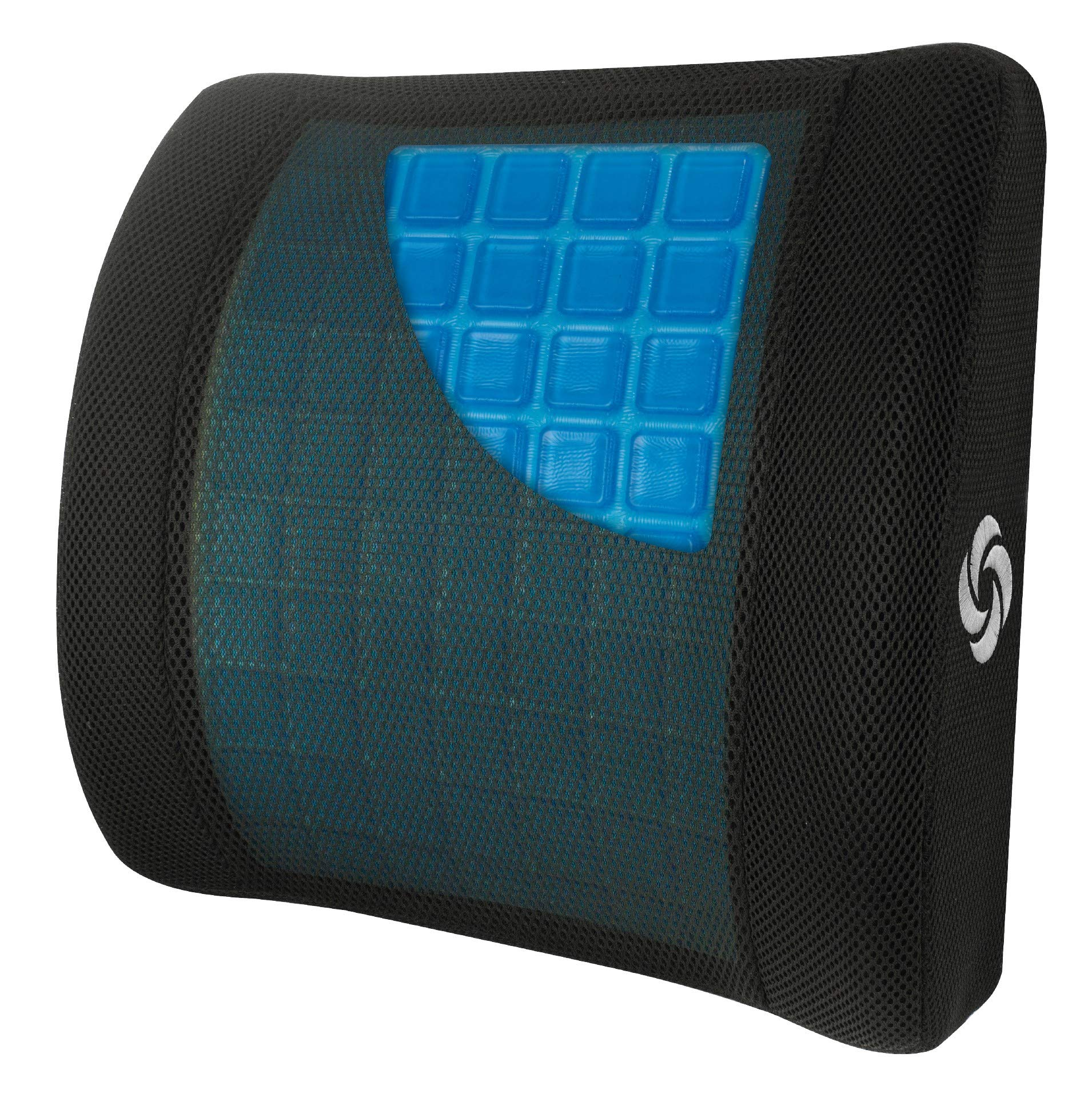 Samsonite SA6086 - Lumbar Support Pillow with Mild Cooling Gel [Cooling effect is subjective, and varies by personal sensitivity] - Helps Relieve Lower Back Pain - Premium Memory Foam by Samsonite (Image #2)