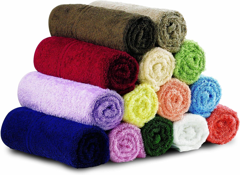 Peach 29x29cm MIP Eco-Knit Face Towel