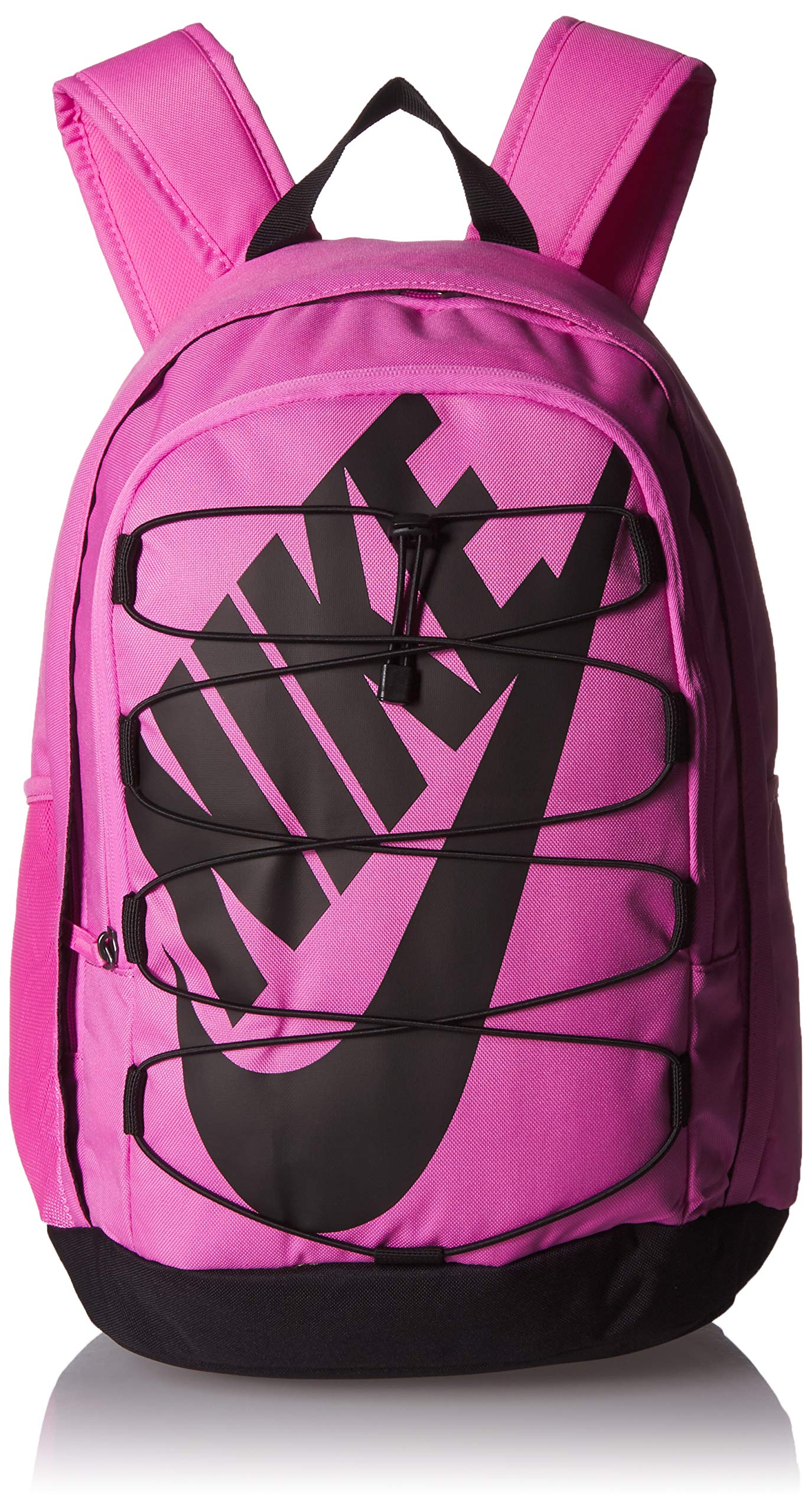 Nike Hayward 2.0 Backpack, Backpack for Women and Men with Polyester Shell & Adjustable Straps, China Rose/Black/Black by Nike