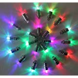 HOSL 60 Pack Multicolor LED Submersible Waterproof Mini Blinking Lights for Paper Lantern Balloon Floral Wedding Halloween Christmas Party Decoration Centerpieces