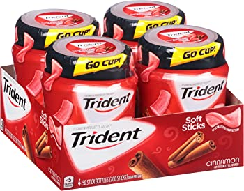 200-Count Trident Unwrapped Cinnamon Sugar Free Gum