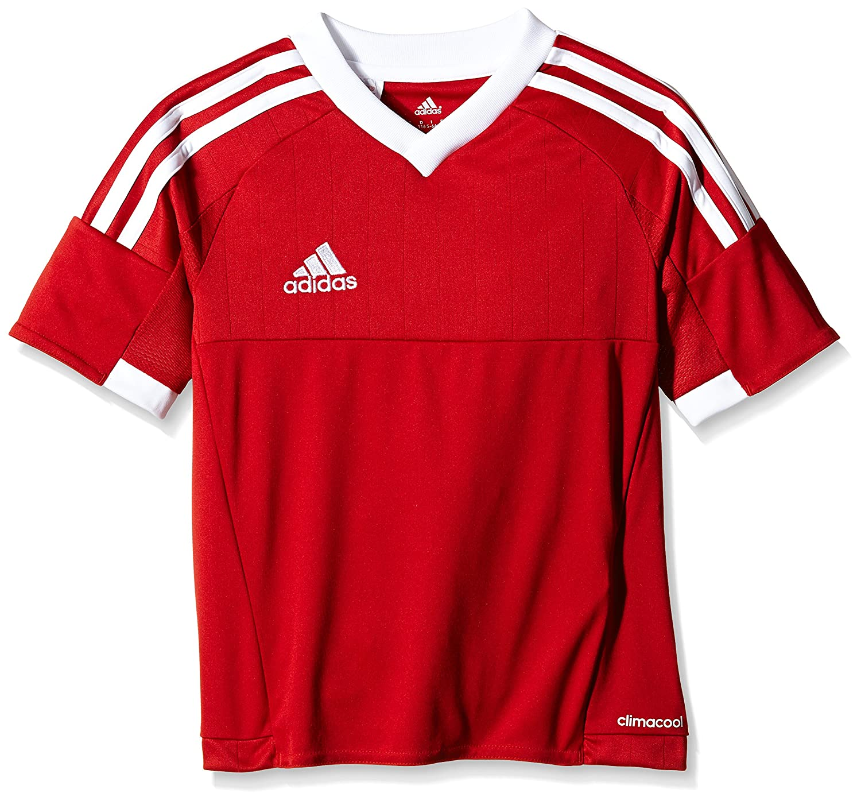 more photos 92a12 fbabf adidas Tiro 15 JSY - T-Shirt pour Homme, Rouge - 152, Taille  152   Amazon.fr  Sports et Loisirs