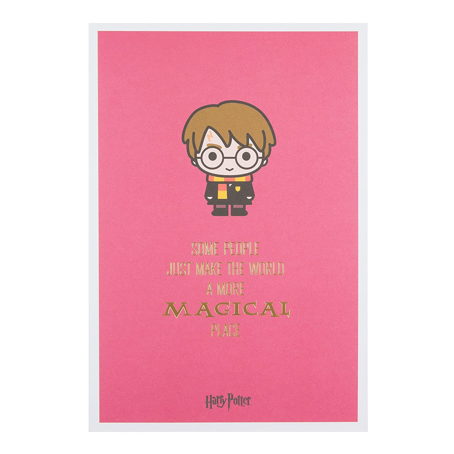 Harry Potter Birthday Card.Hallmark Magical Place Harry Potter Birthday Card