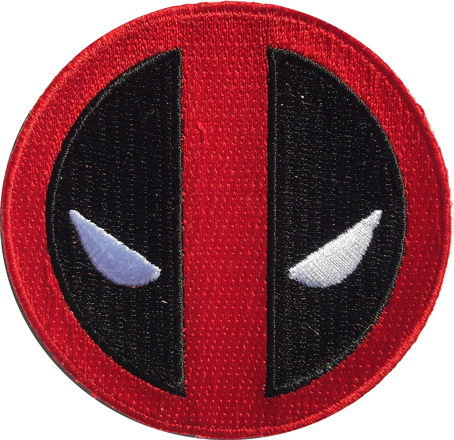 Patch Squad Men's Application Marvel Extreme Deadpool Icon Patch PS-AMDP-IRDBK