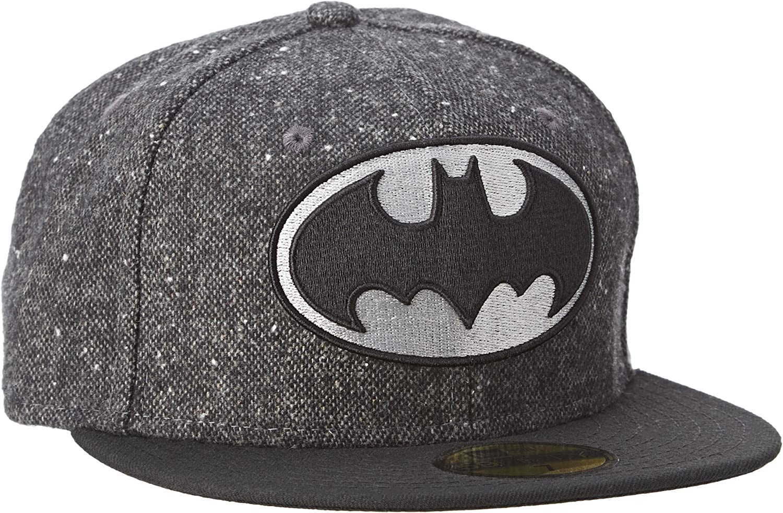 New Era Character Tweed Batman GRABLK Gorra de béisbol, Hombre ...