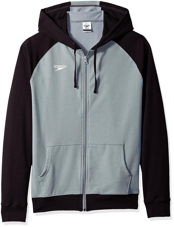 Speedo Unisex Full Zip Hoodie Sweatshirt Speedo Men/'s and Women/'s Swimwear 7720801-P