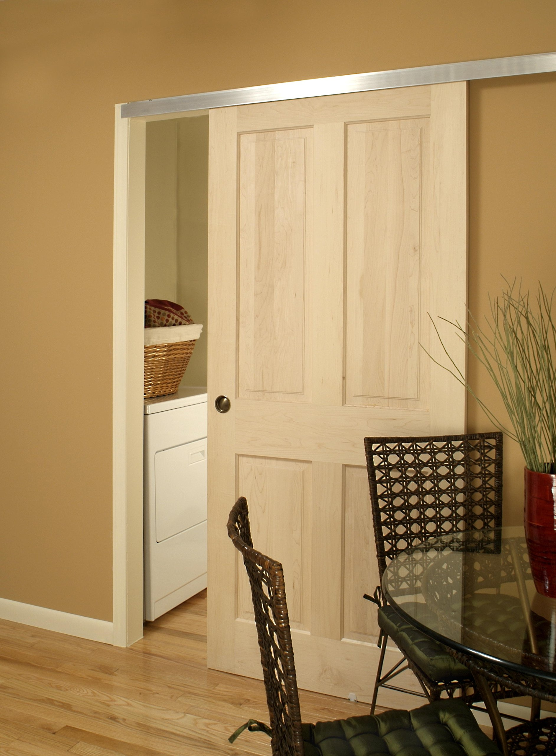 2610 Wall Mount Barn Door Type Sliding Door Hardware 72'' by Johnson Hardware (Image #2)