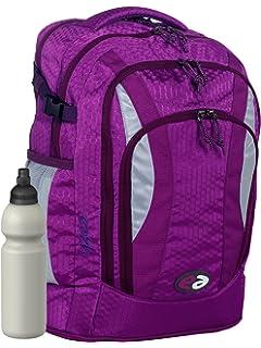 6808e225c13d1 YZEA by Take it Easy Schulrucksack AIR mit Trinkflasche - viele Farben und  Dessins (VIOLA